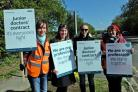 Striking doctors still seem to have public support in Slough