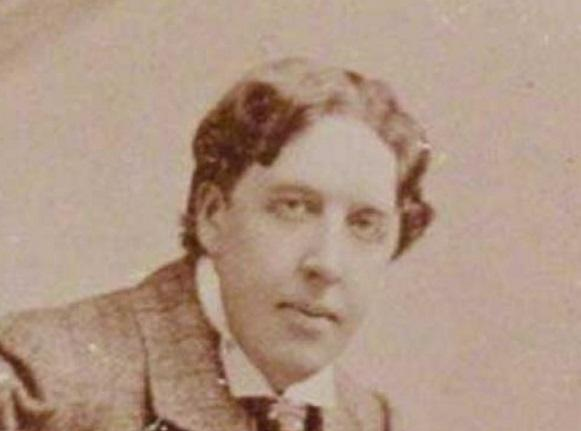 Oscar Wilde (pictured) spent two years locked up at Reading Prison in the 1890s