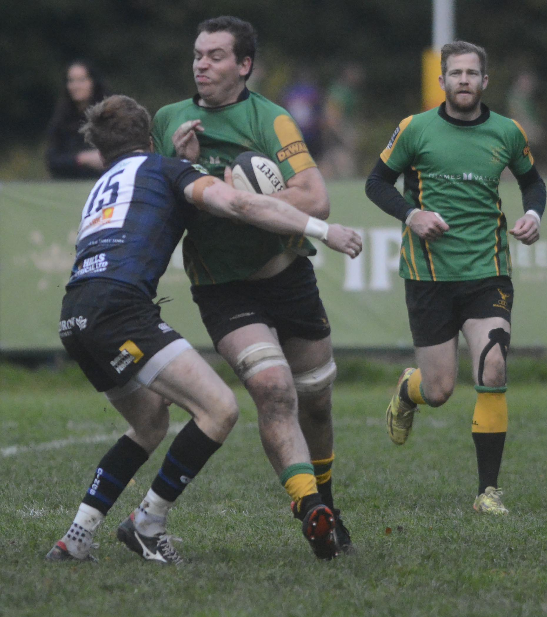Lachy Valentine was among the Bracknell try scorers.