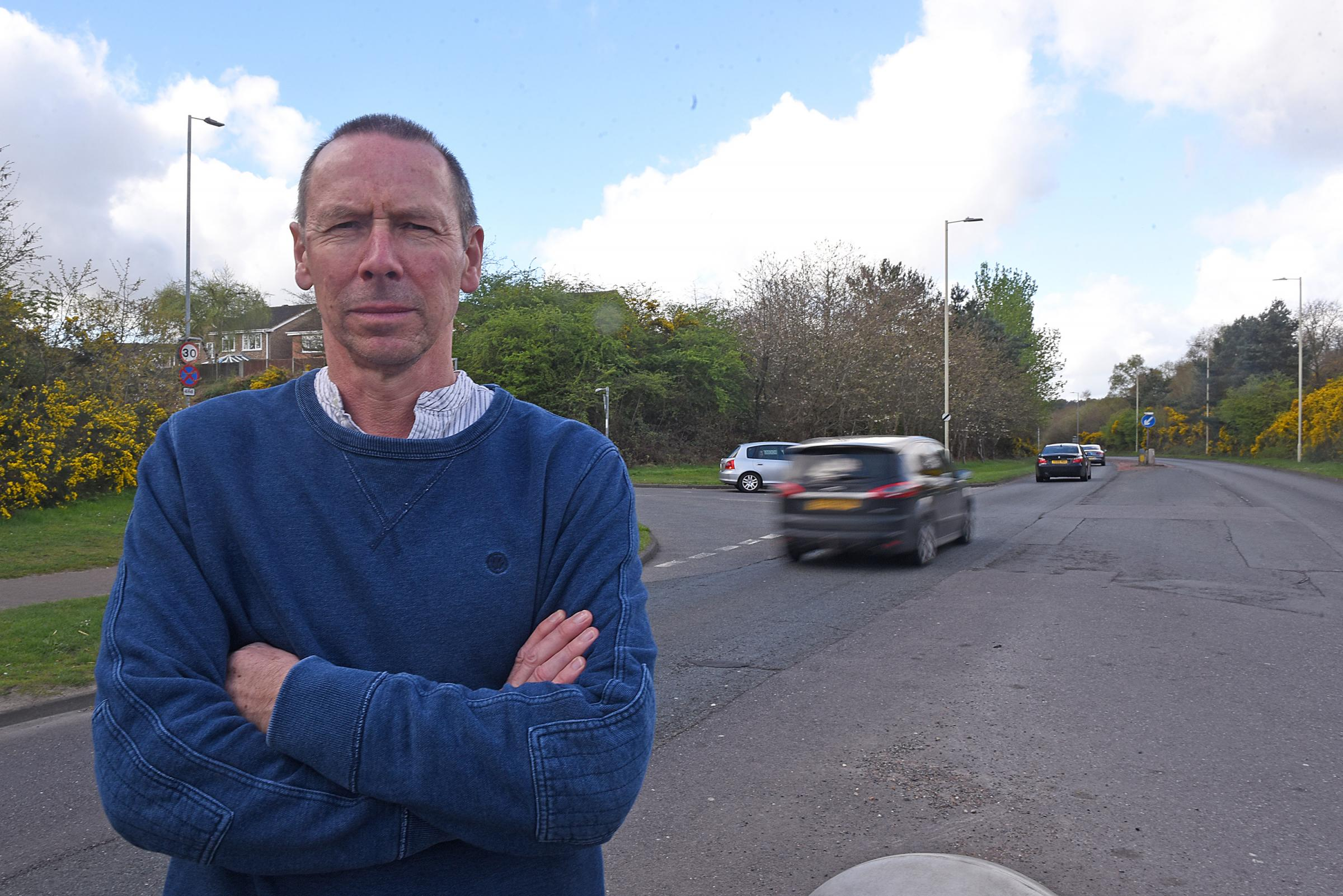 Speeding motorists in busy Sandhurst road are 'accident waiting to happen'