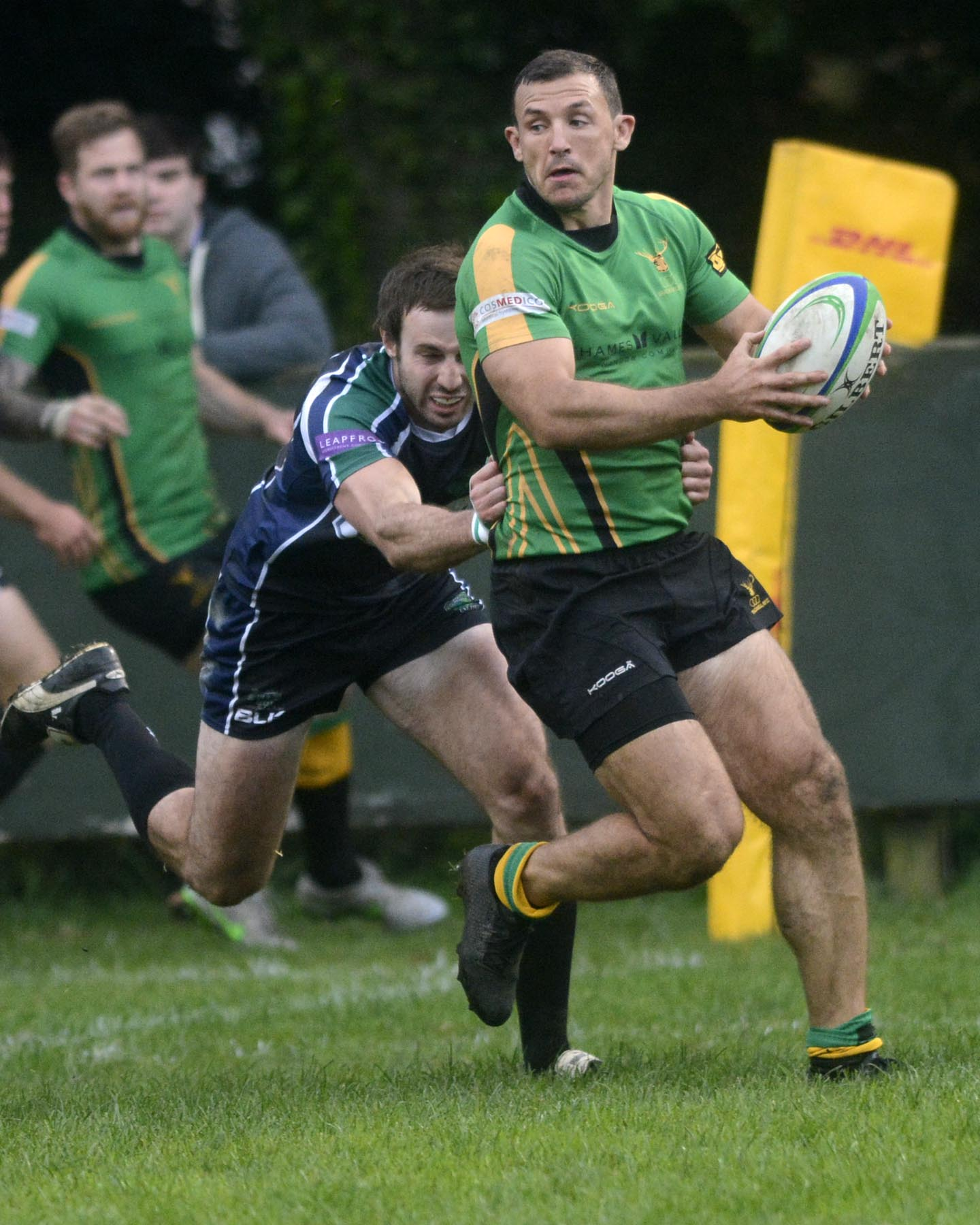Stuart Mackay scored two tries for Bracknell