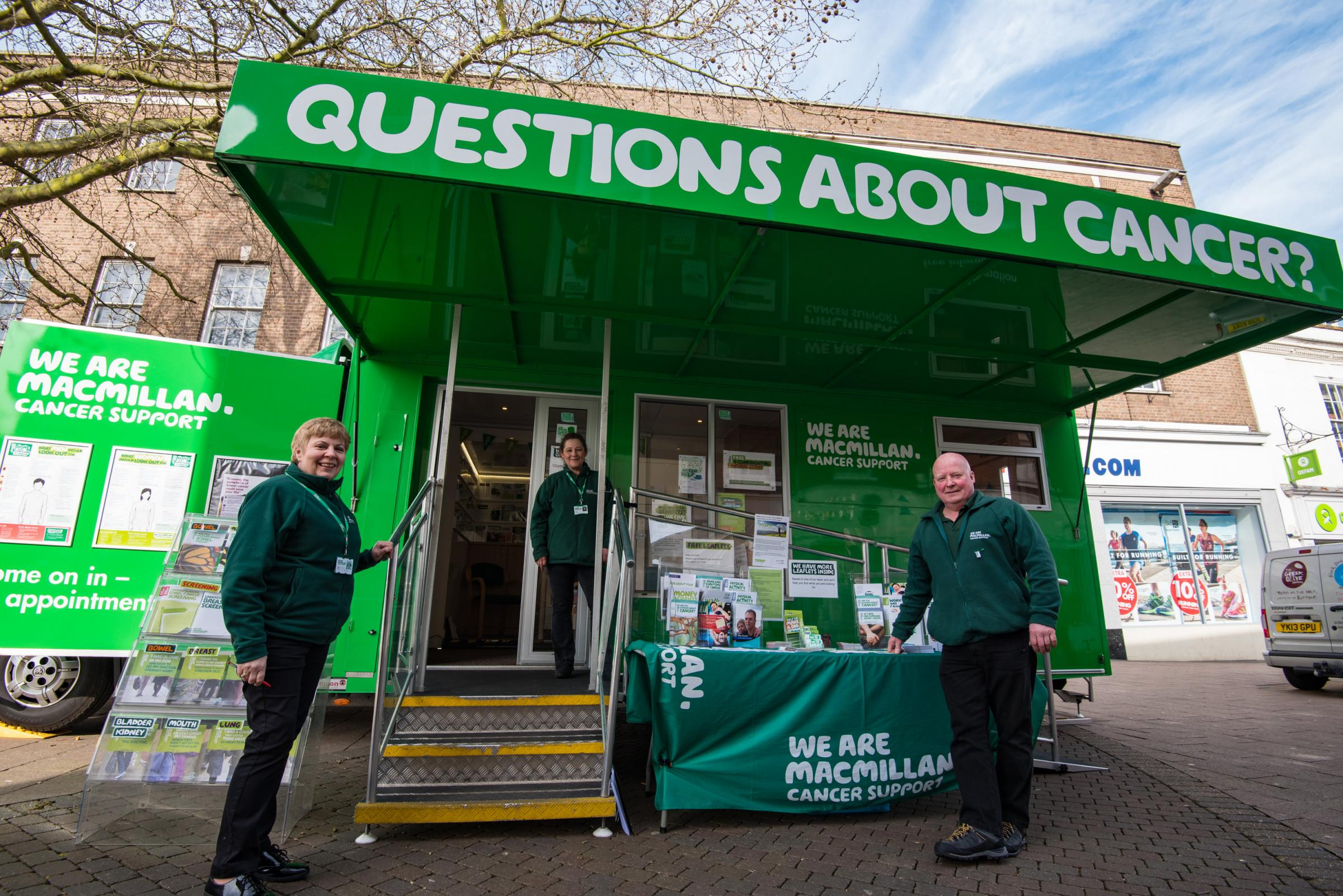 Macmillan Cancer Support Information Service in Newbury