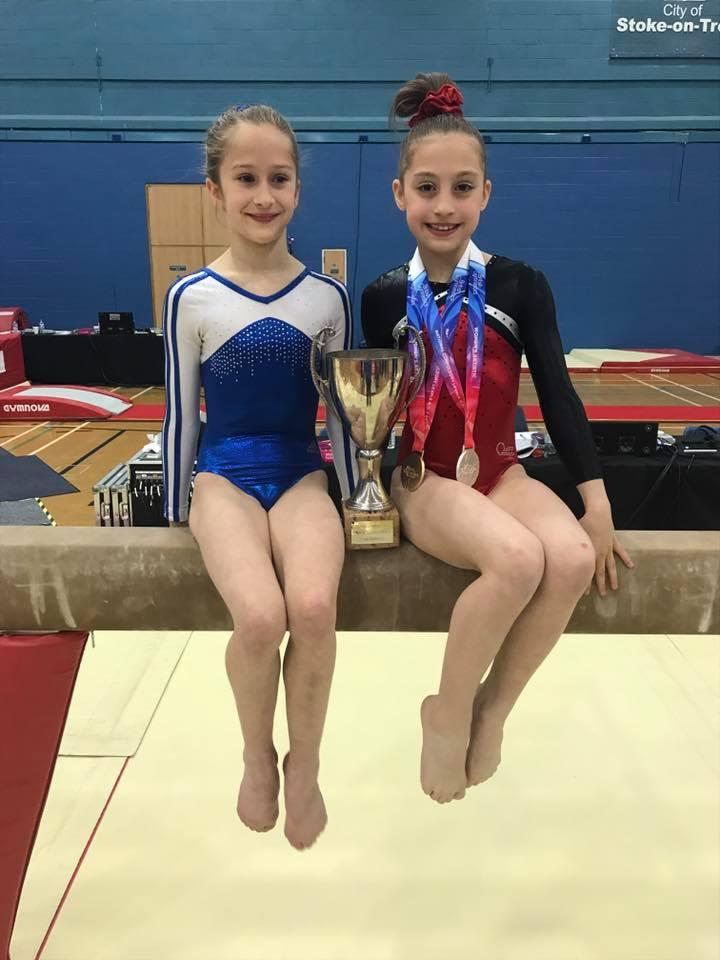 L R Emily Croll And Sonia Runcianu