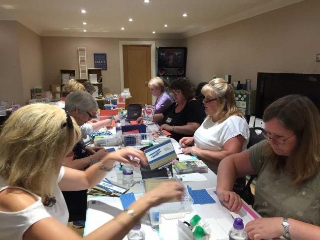 Crafter Hosts All Day Card Making Challenge To Support Specialist Hospital Children