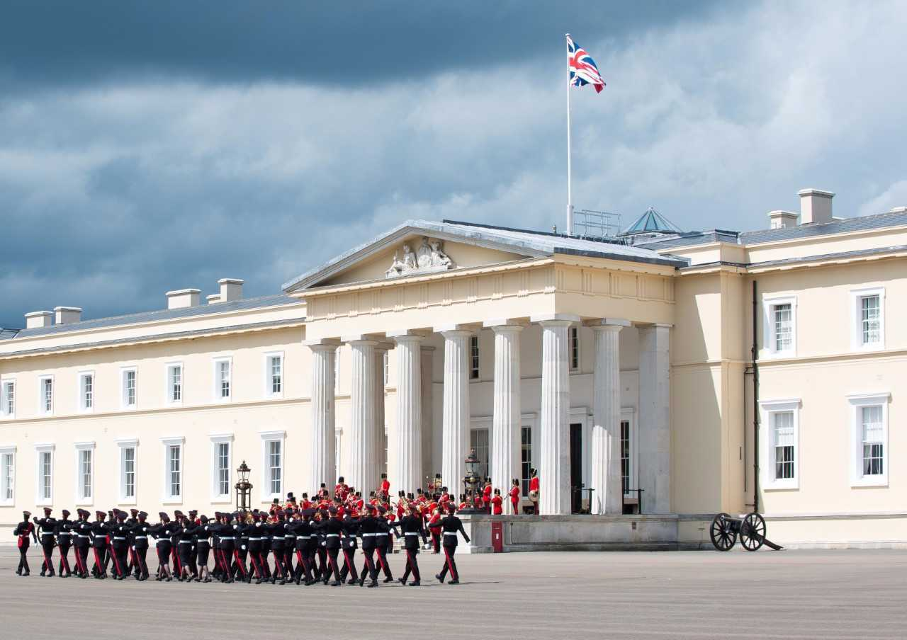 Female officer cadet found dead at Royal Military Academy