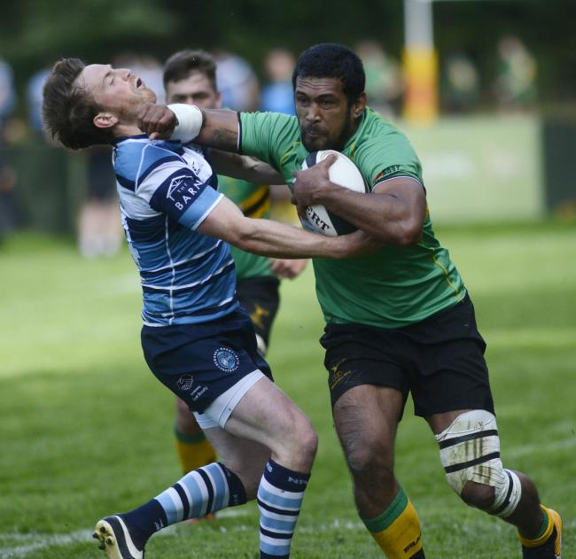 Chris Hala'ufia scored two tries for Bracknell