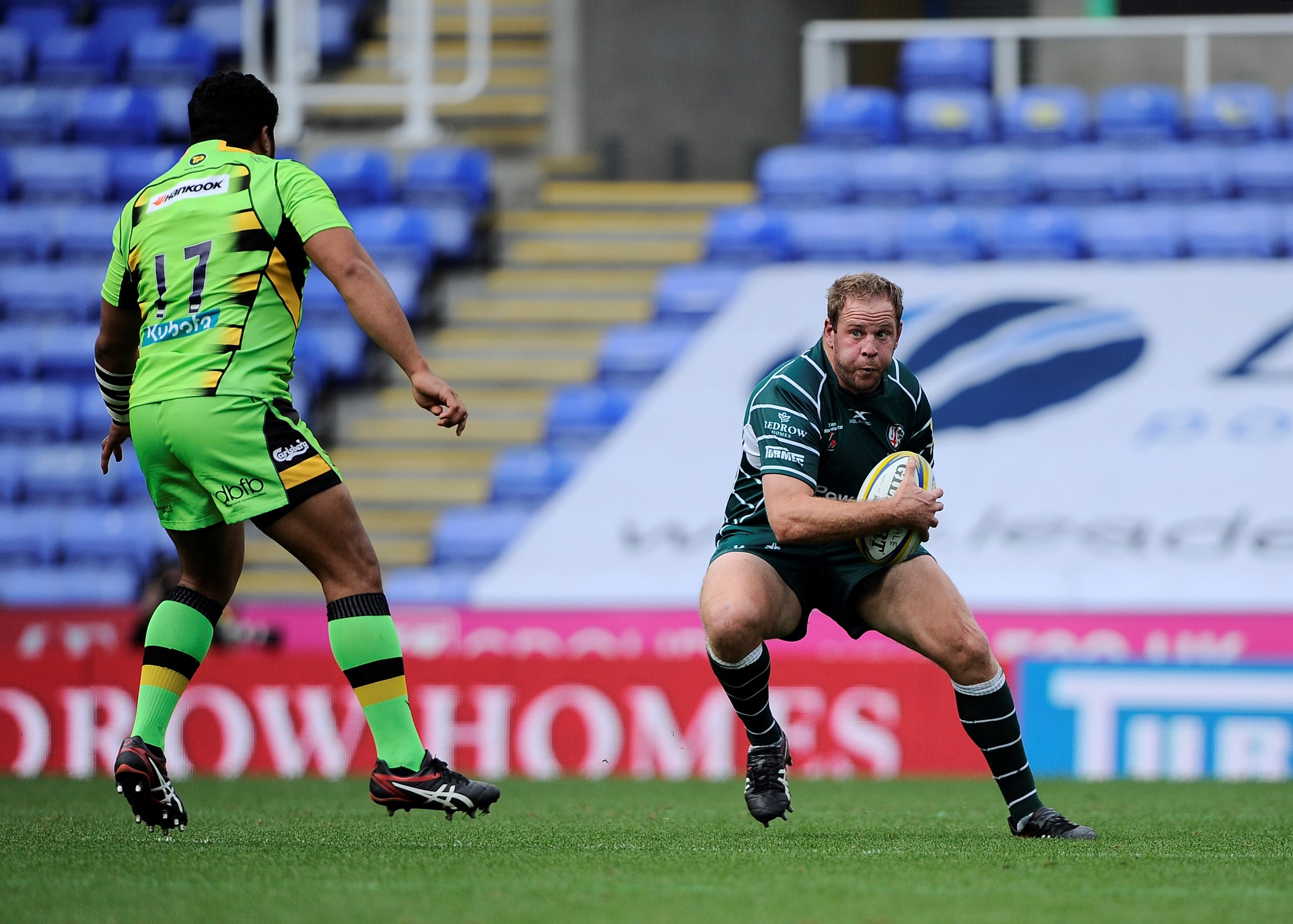 London Irish captain David Paice was sent off for an off the ball incident at Gloucester. Picture: David M.Moore.
