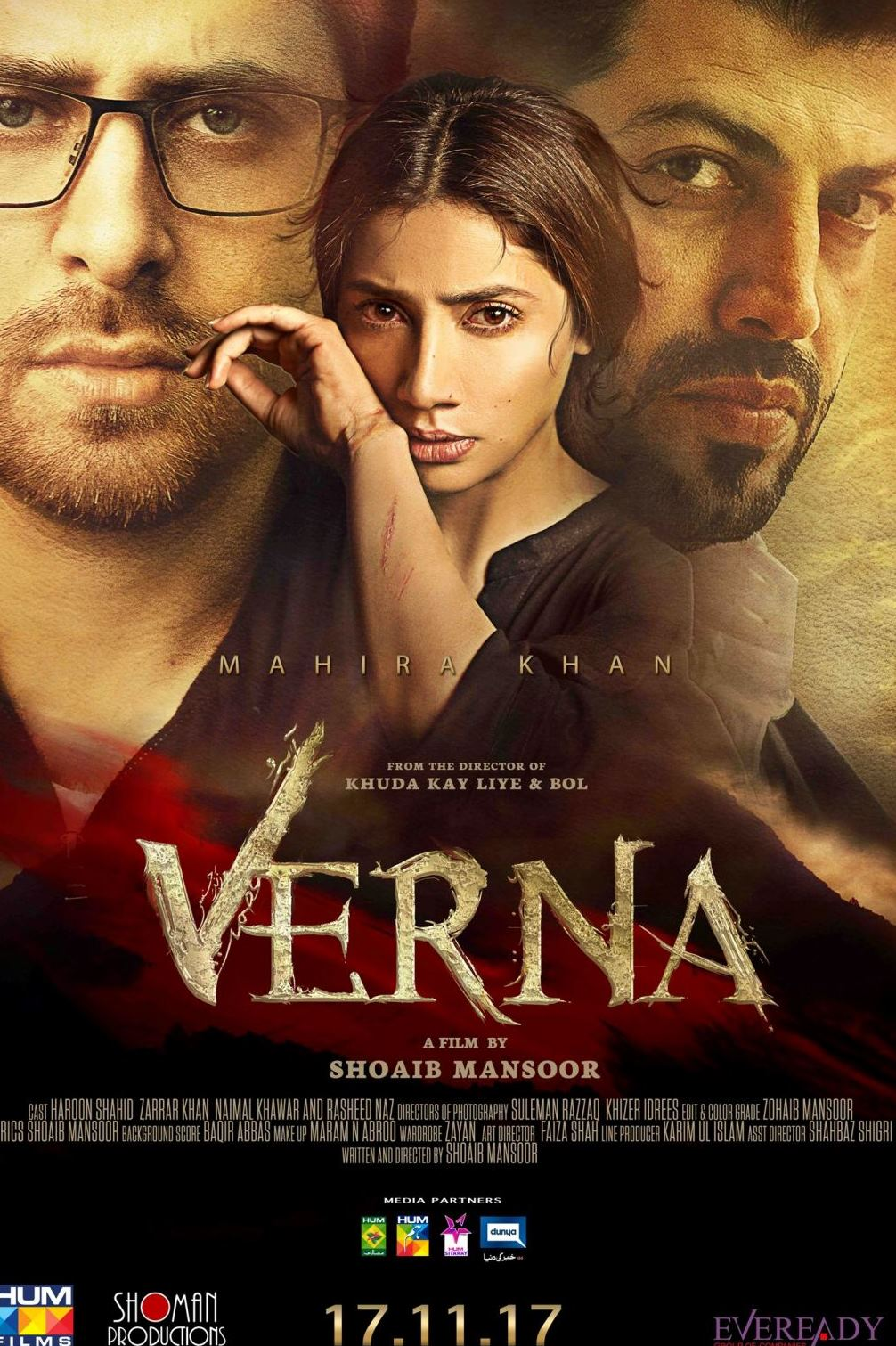 VERNA, THE TRULY MOVING & THOUGHT-PROVOKING SOCIO-DRAMA FROM THE GROUNDBREAKING FILMMAKERS OF 'KHUDA KAY LIYE' BRINGS FEMALE EMPOWERMENT TO THE FORE