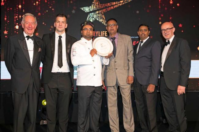Curry house wins national award for tasty tikka masala and sizzling saag aloo