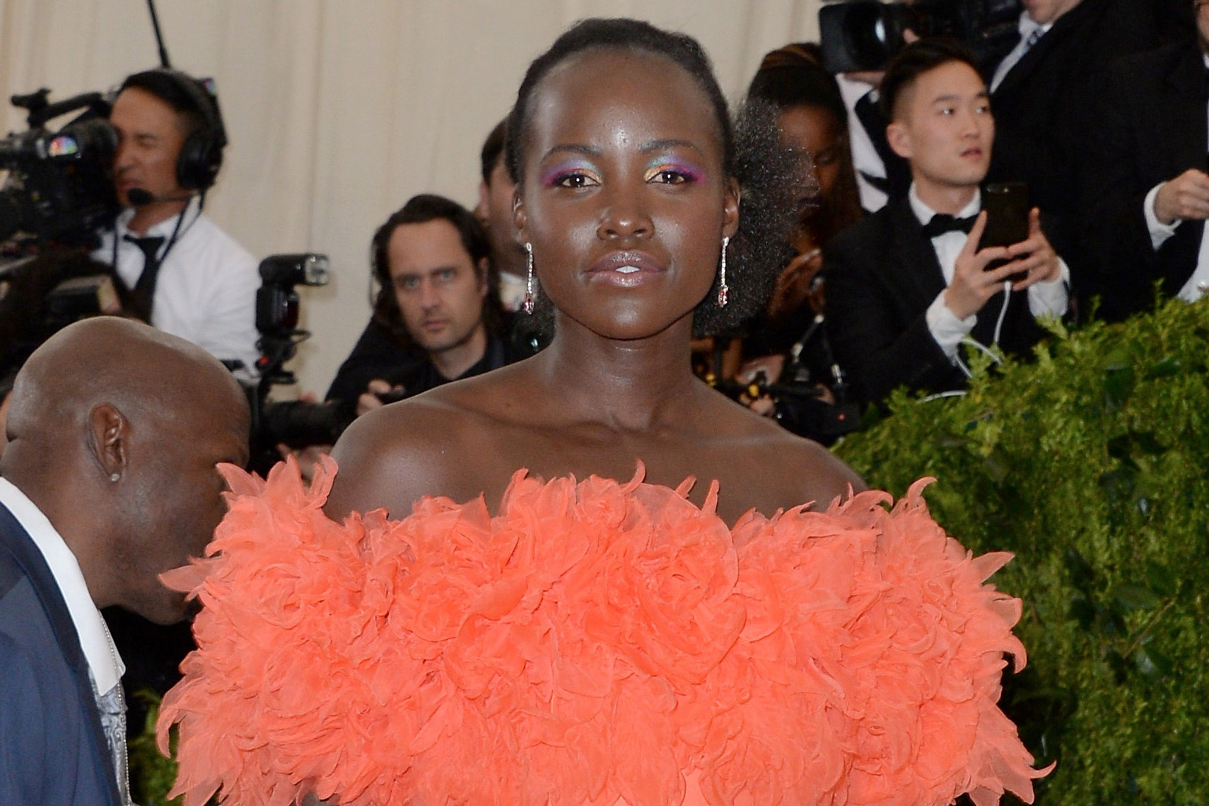 Grazia apologised 'unreservedly' for a Lupita Nyong'o cover alteration (Aurore Marechal/PA)