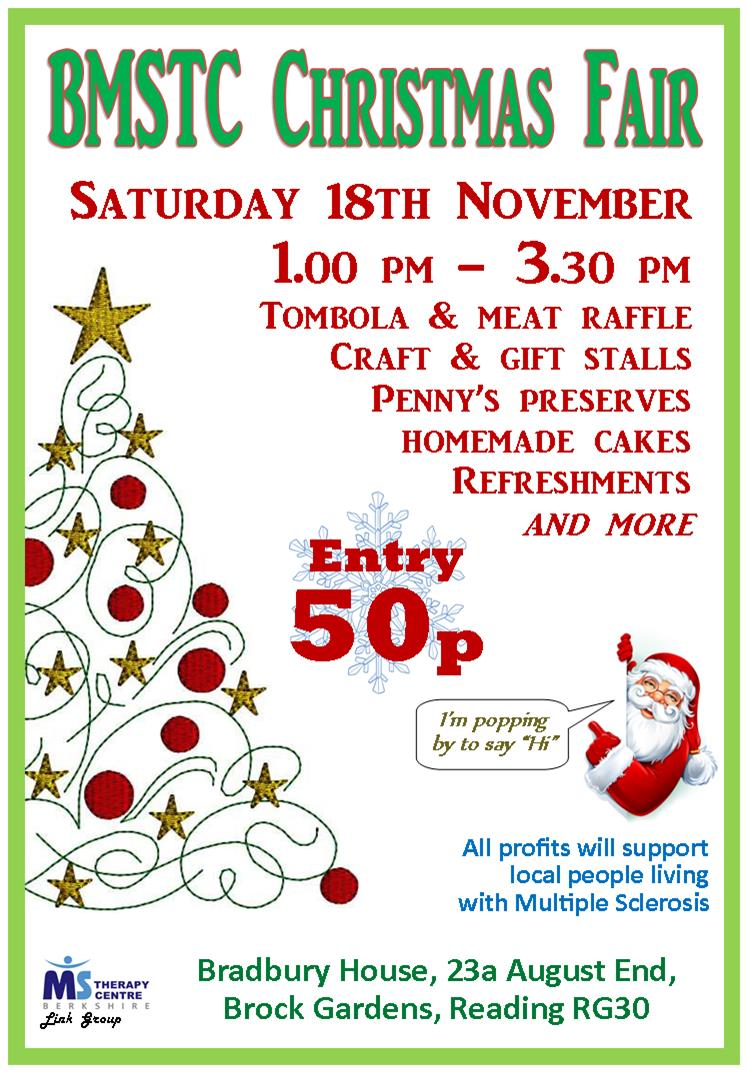 Christmas Fair for Berkshire MS Therapy Centre