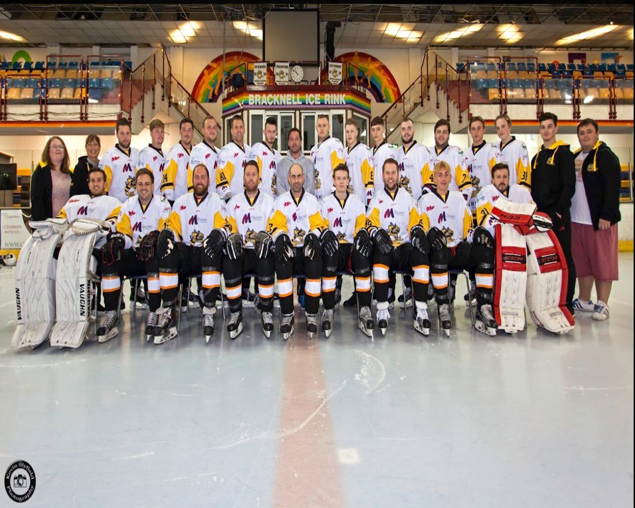 Pride of Bracknell winners and runners up to be given special treatment at ice hockey games
