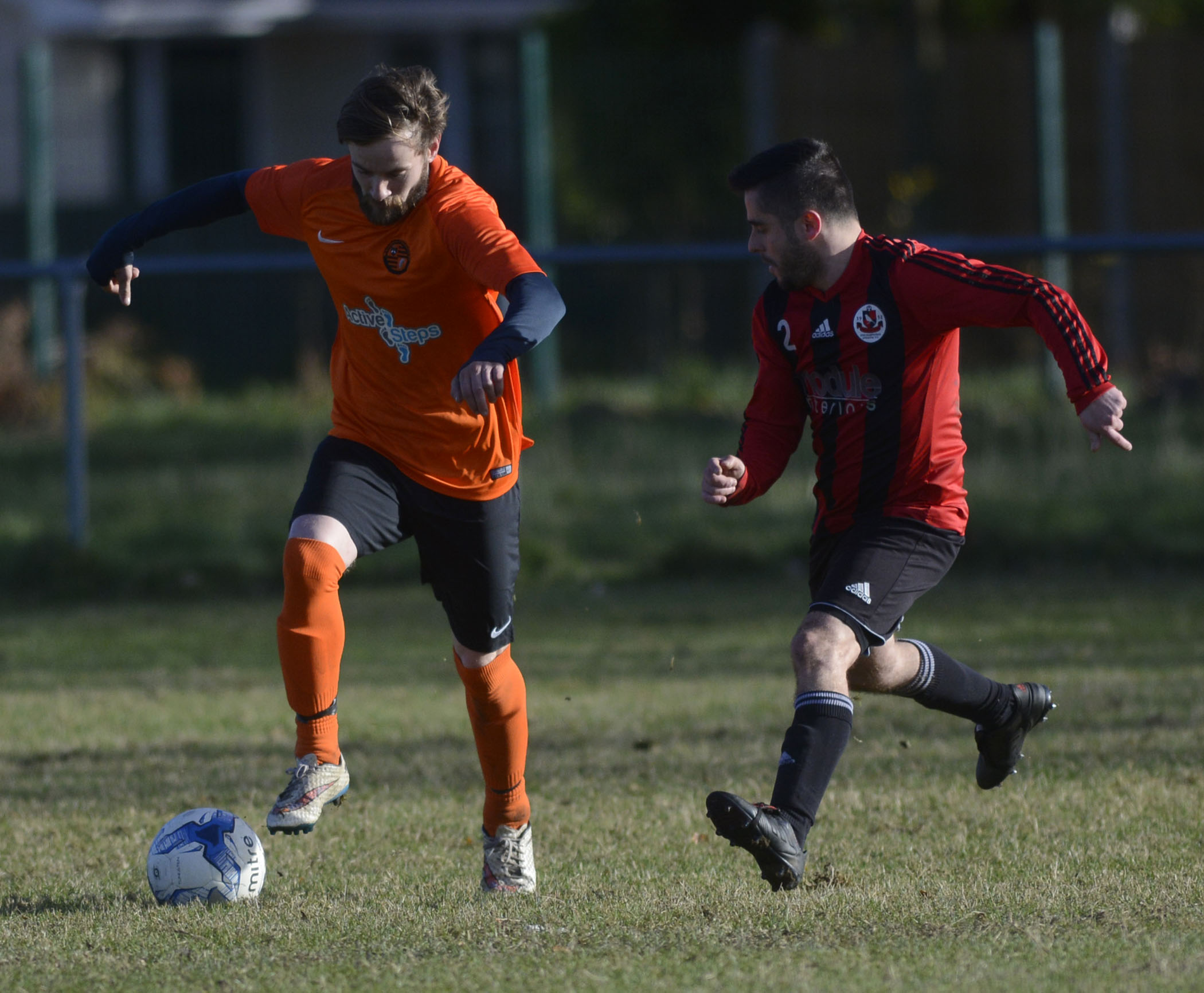 Finchampstead (red/black) crushed Wokingham & Emmbrook 7-0