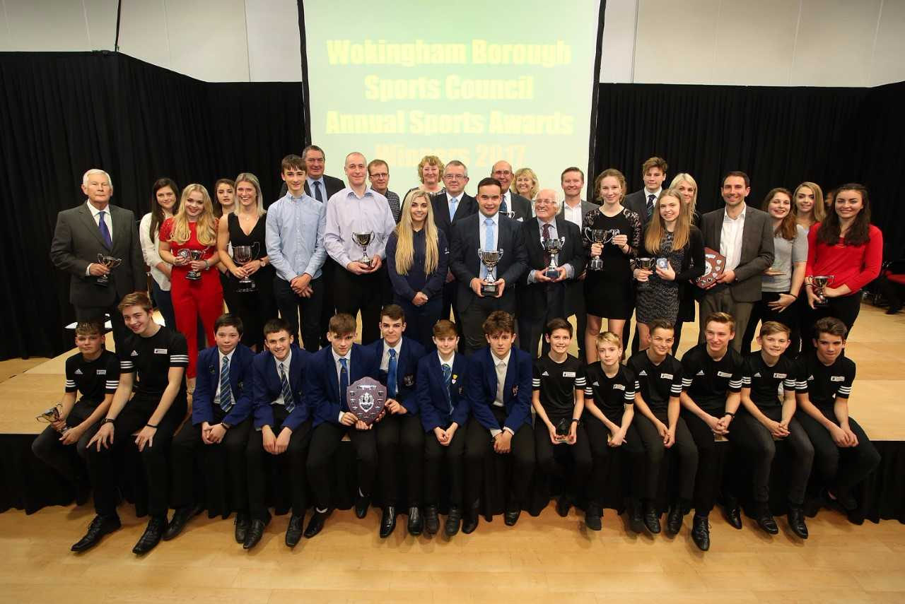 The winners at the Wokingham Borough Council sports awards    Picture by Stewart Turkington