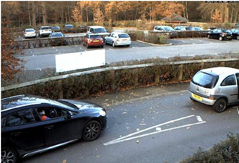 CCTV image showing the showing the suspected vehicle