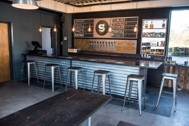 Brewery opens new tap yard featuring craft beers