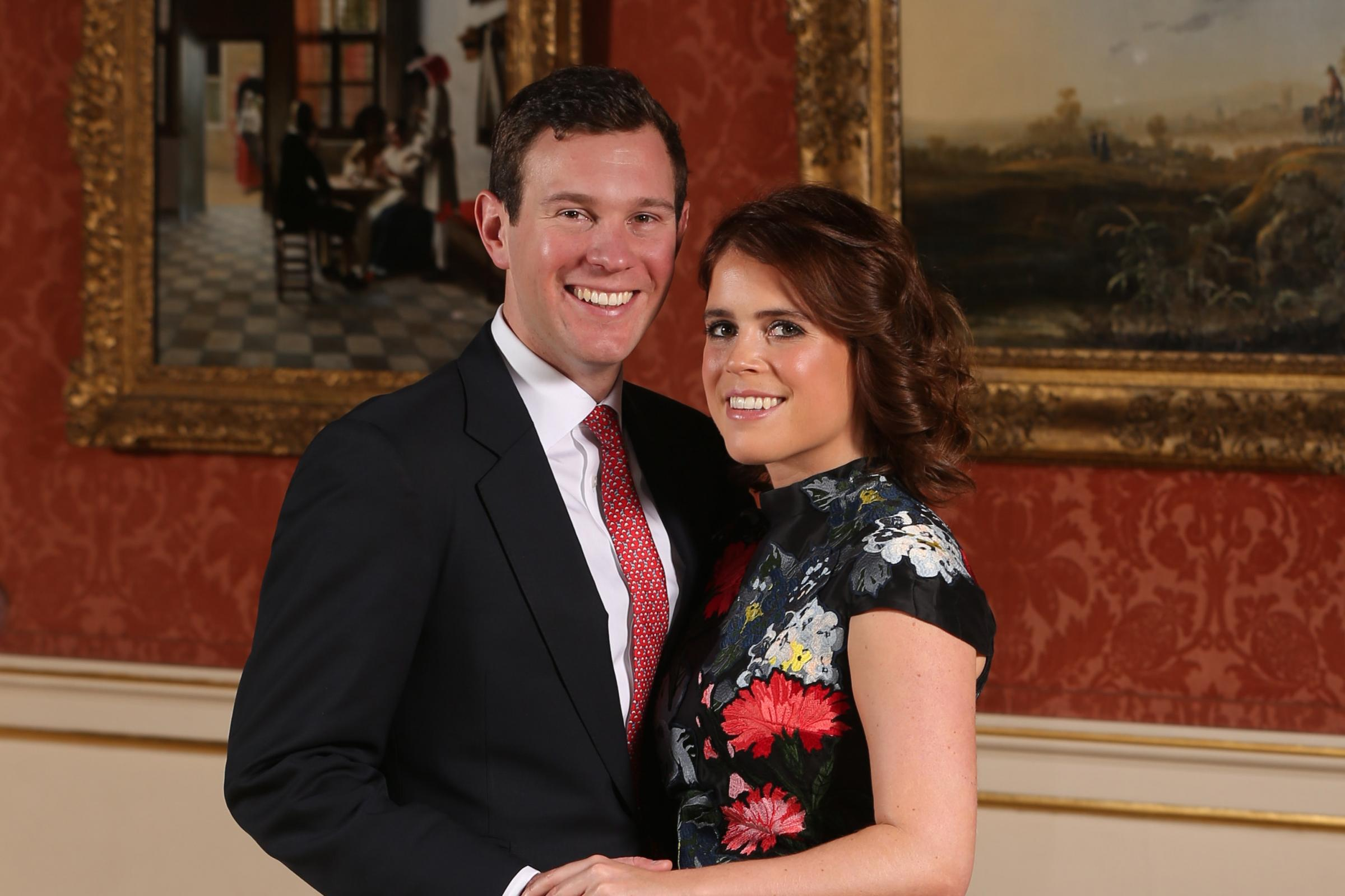 Royal wedding date for Princess Eugenie and Jack Brooksbank is announced - PA/Wire photo