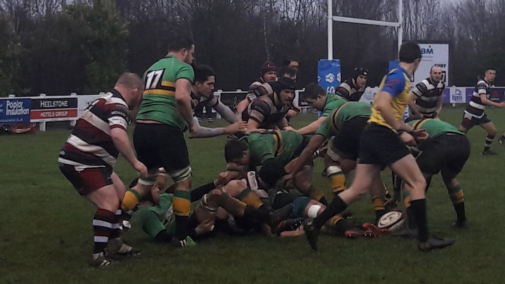 Bracknell RFC won 23-21 at Cleve in their South West Premier clash on Saturday