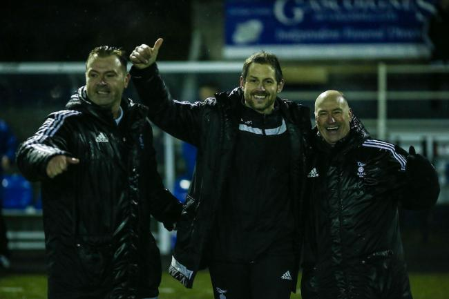 Bracknell Town Joint Managers Jeff Lamb And Paul Mcgrotty Aim To End