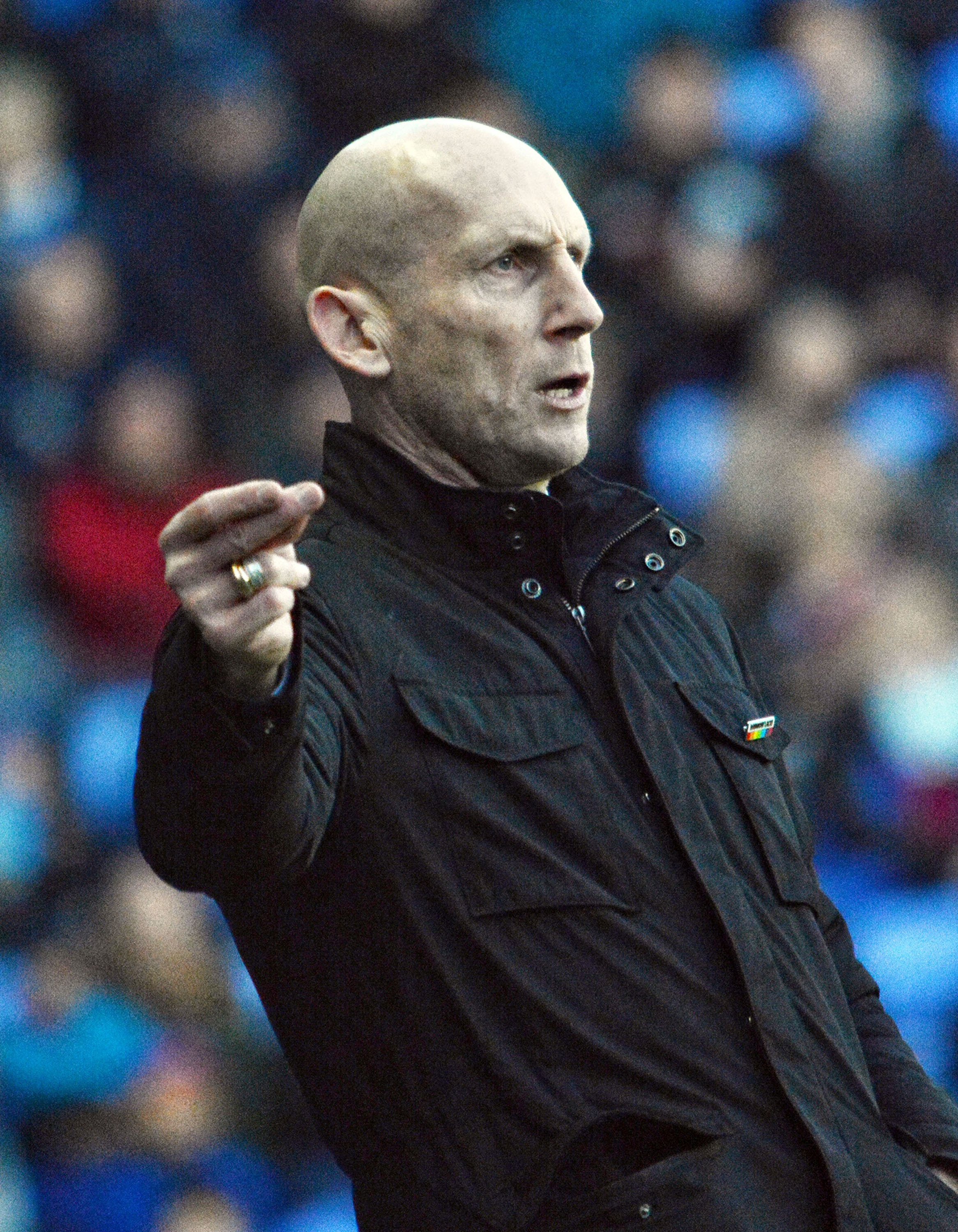 Jaap Stam 171192 Reading 0:0 Sheffield Wednesday - Skybet Championship - Pictures: Mike Swift.
