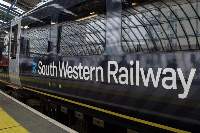 Trespassers cause delays on trains