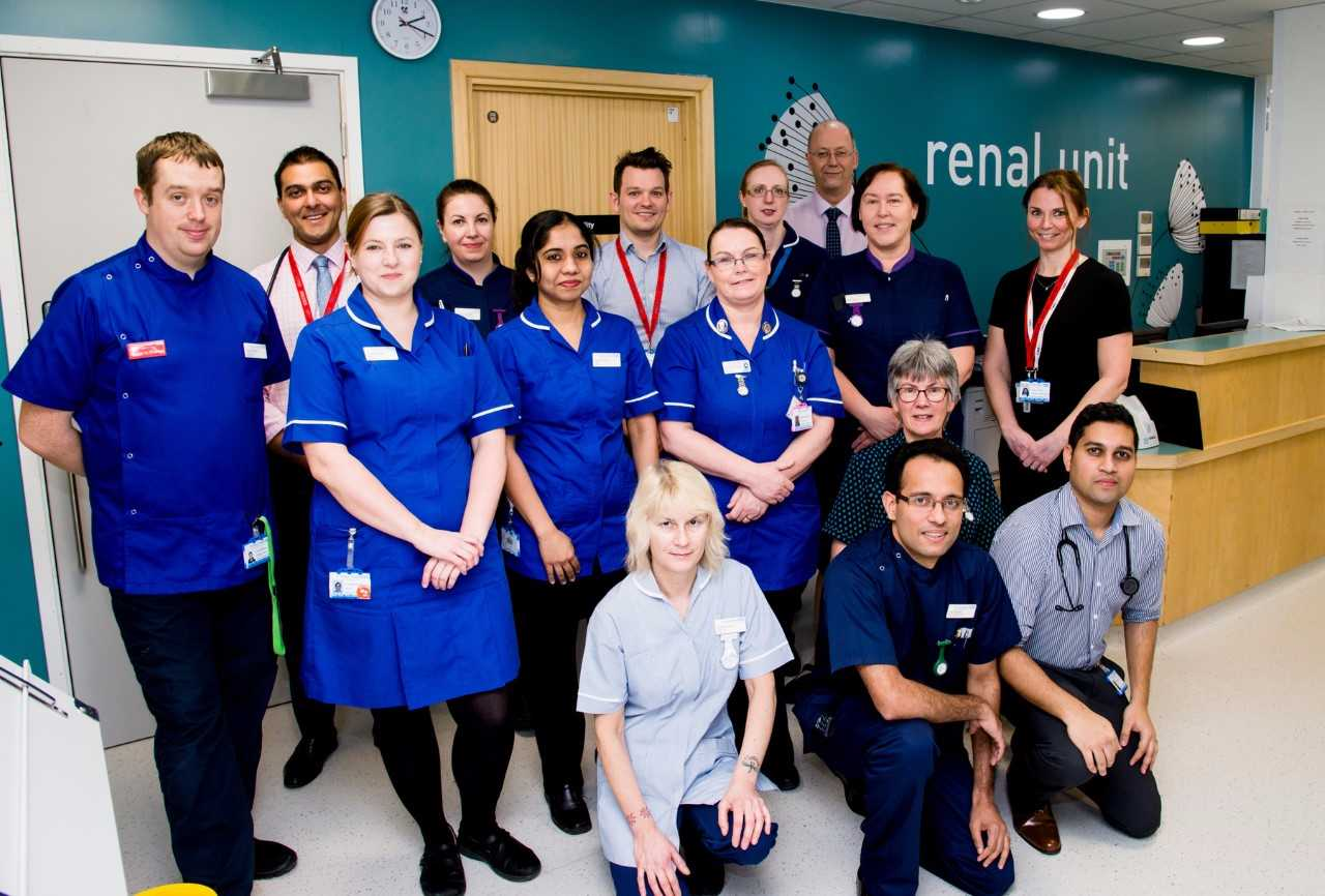 State-of-the-art renal centre opens at Frimley Park