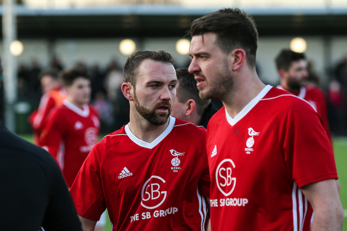 Carl Davies (right) is the new Bracknell Town player-manager  Picture by Neil Graham