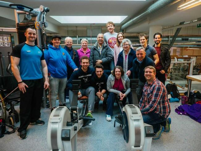 Rower shatters world record in ore-some 100 hour triumph