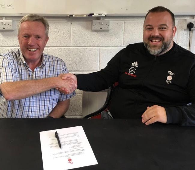 Wokingham emmbrook to groundshare with bracknell town bracknell news wokingham emmbrook secretary bob good with bracknell town chairman kayne steinborne busse malvernweather Image collections