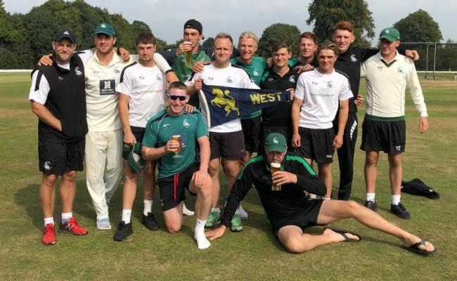 The victorious Berkshire squad