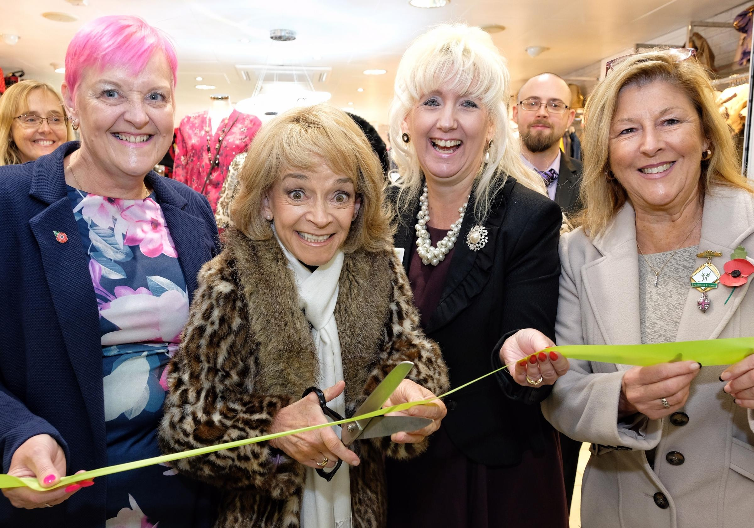 Only Fools and Horses star opens new charity shop in Bracknell