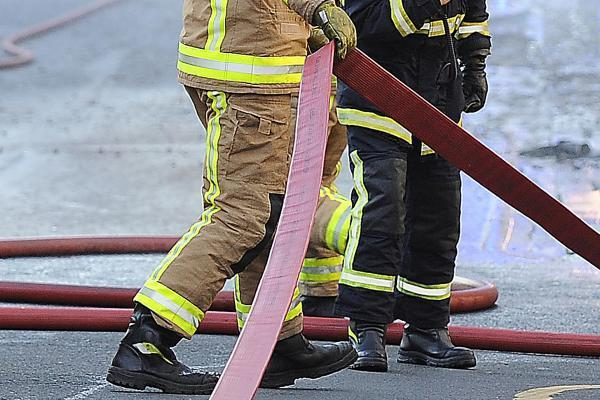 Young people encouraged to have ago at being a firefighter