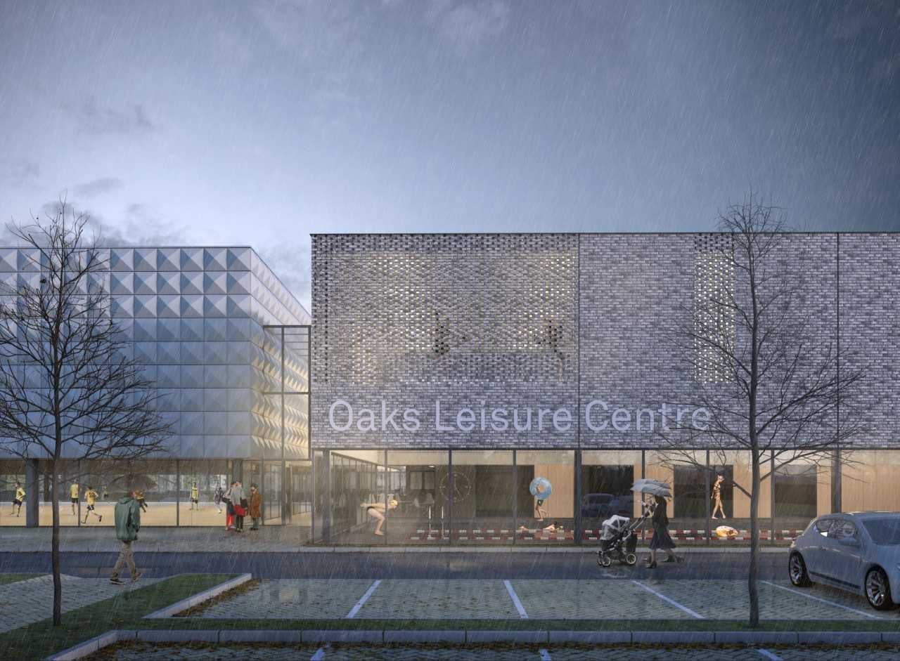 Planning application for new leisure centre in Sunningdale submitted
