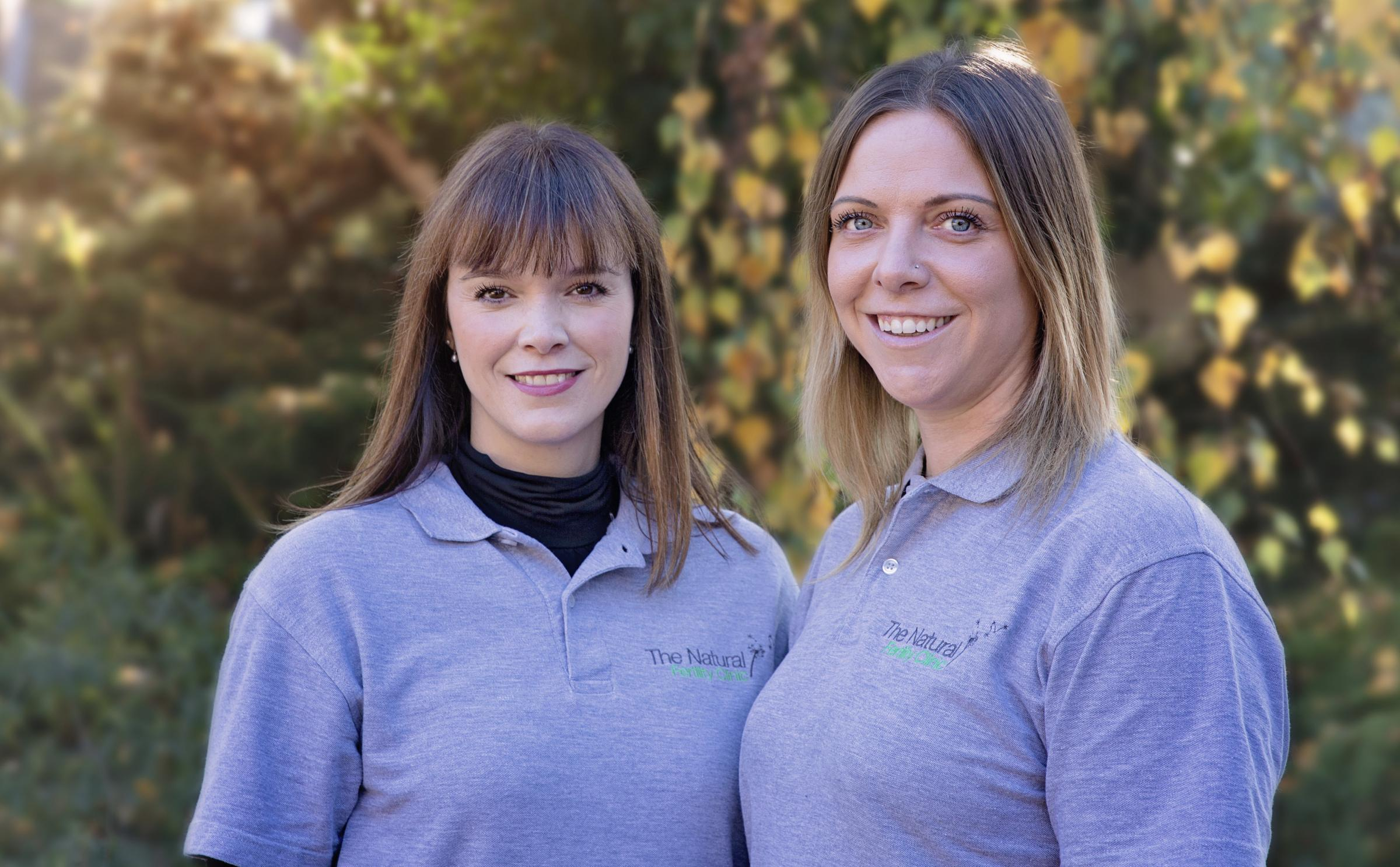 The Fertility Clinic founders Verity Paz (left) and Katy Flello (right)