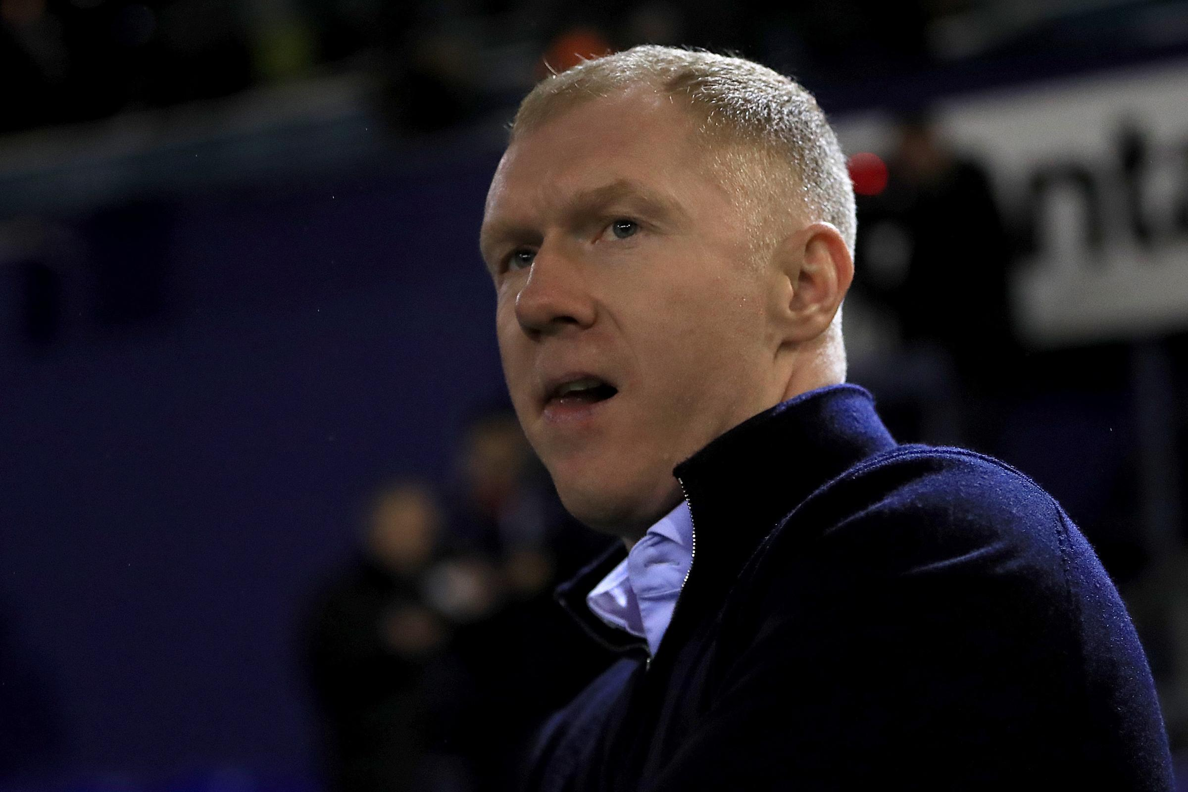 Paul Scholes left Oldham after just 31 days