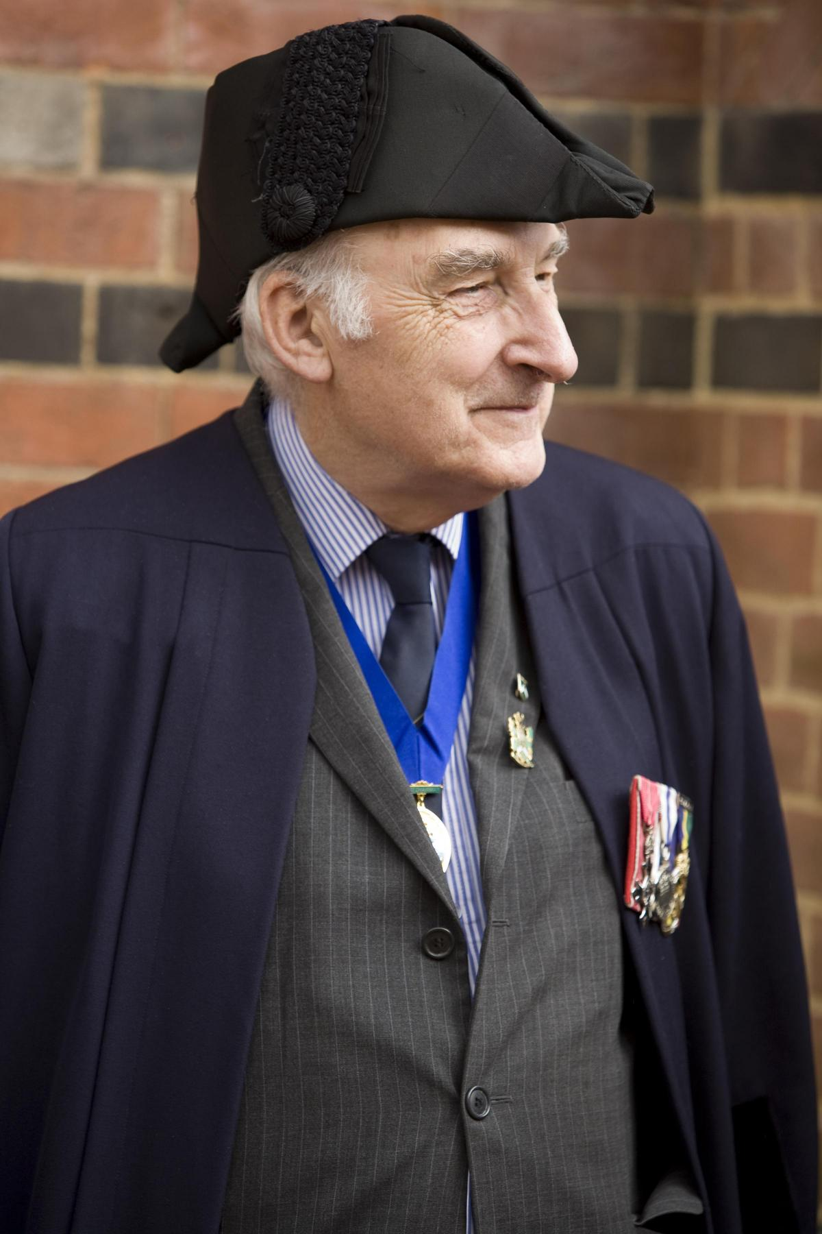 Councillor Robert Wyatt Served Wokingham Borough Council For Over 50