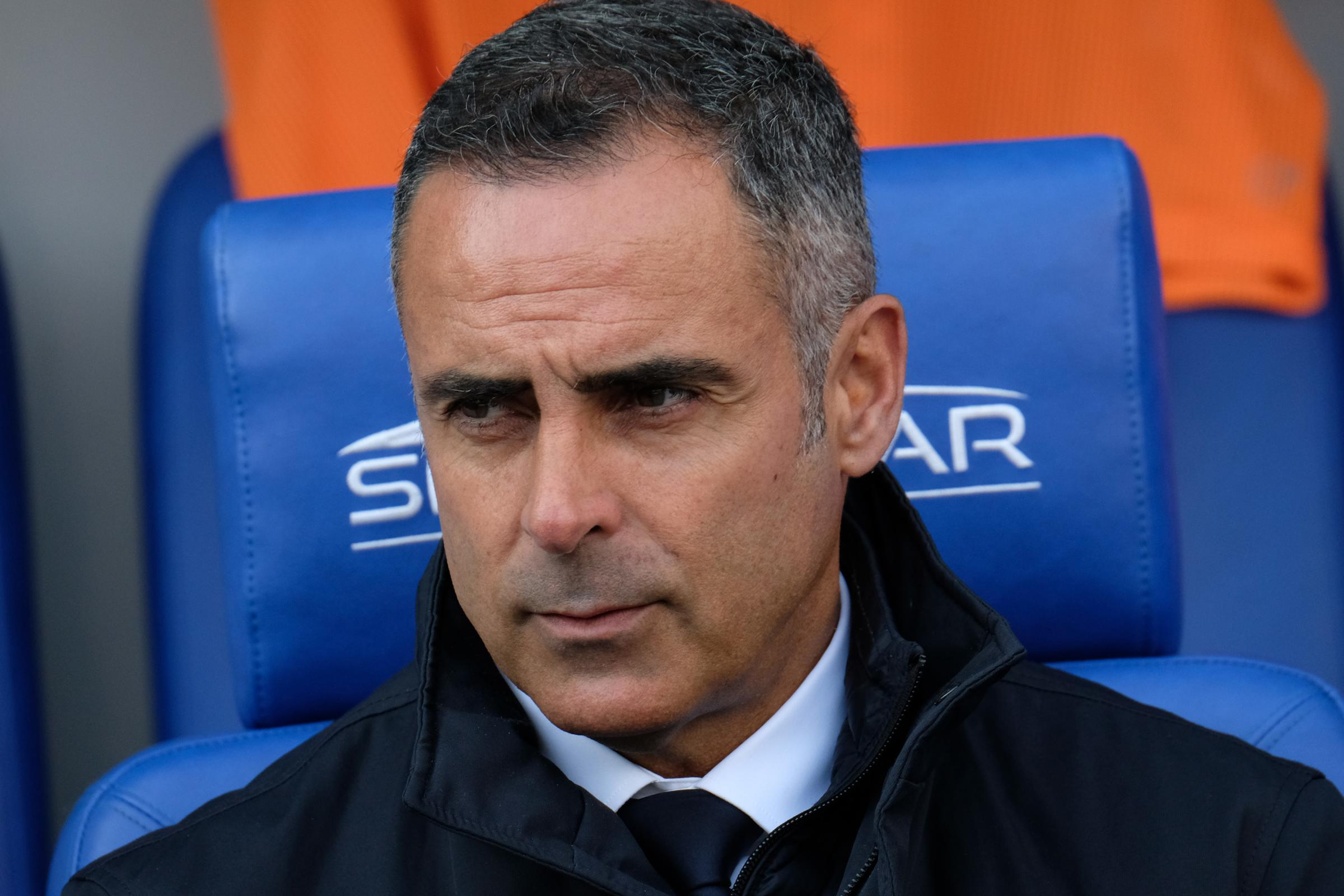 "Reading FC manager Jose Gomes: ""We have until June 30 to make money with players otherwise we can't make any contract offers."" PHOTO: Mike Swift."