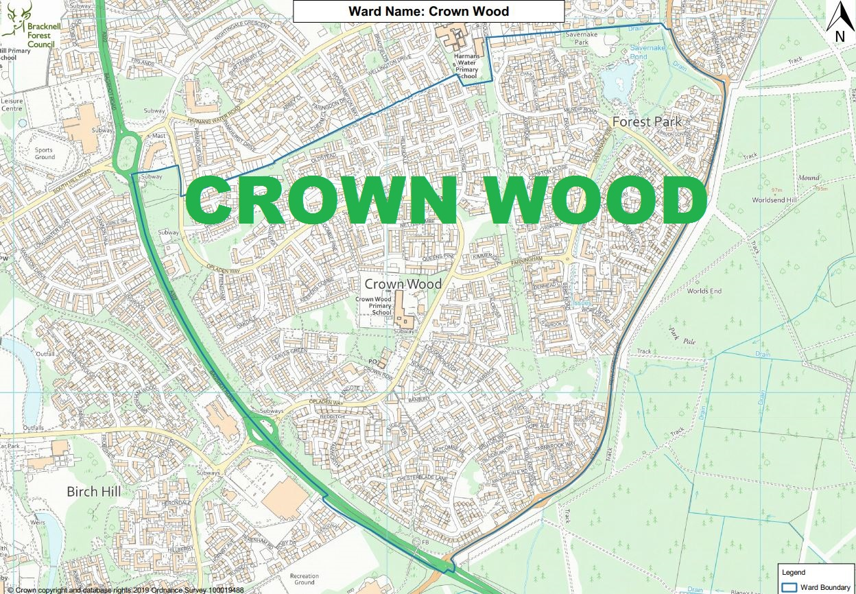 Crown Wood: here's who's standing in your ward