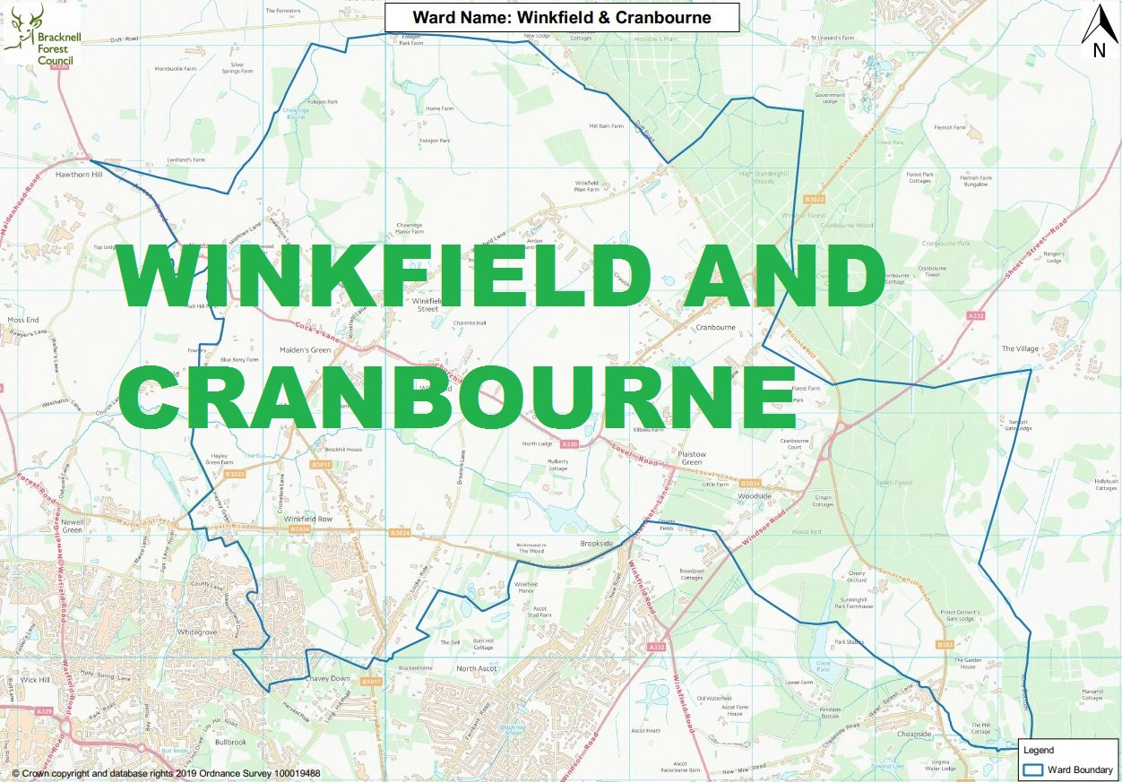 Winkfield and Cranbourne: here's who's standing in your ward