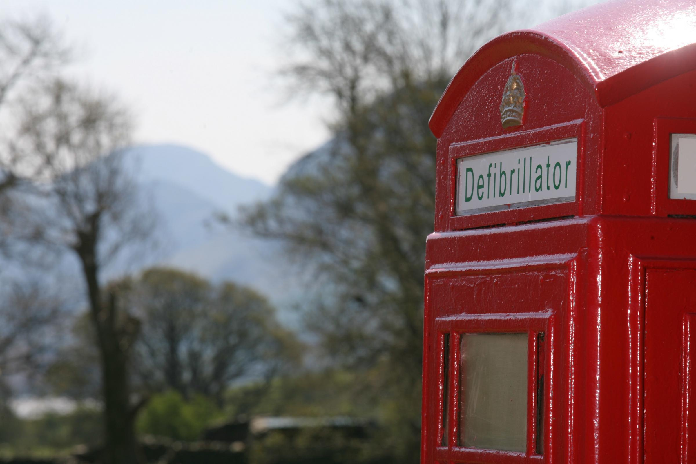 The red phone box in the Cumbrian village of Loweswater in the Lake District is the 3,000th box to be adopted in the UK under BT's Adopt a Kiosk programme.