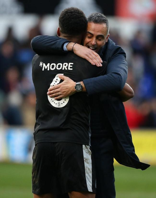 Liam Moore backs Jose Gomes as the manager prepares a second Reading FC exodus