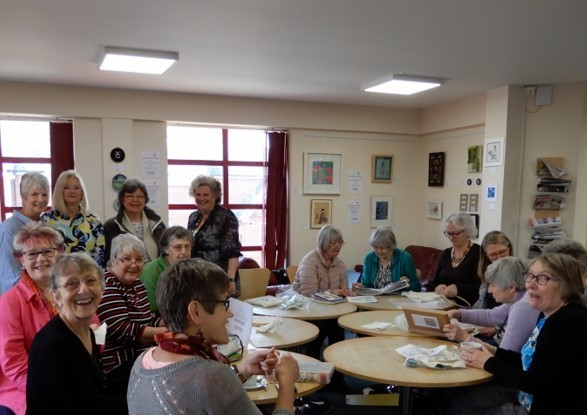 New exhibition in Wokingham Library by Embroiderers' Guild celebrates Wokingham Cultural Month