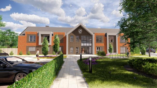 Planning permission has been given to transform the site of a care home to a new purpose-built care home with a Retirement Community development