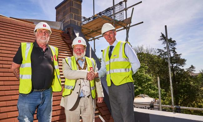 A multi-million-pound Bracknell care home has marked its latest construction milestone