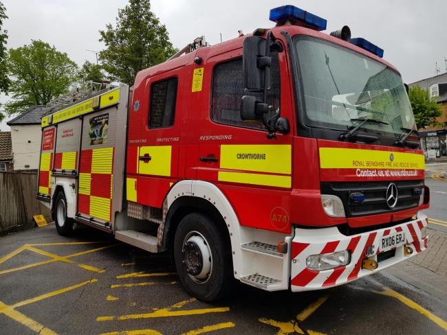Frontline fire engines have stayed at the same level since 2014